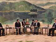 越中两国立法机构深化合作