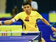 越南乒乓球队获得东南亚男子团体冠军