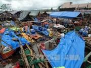 """台风""""洛坦""""袭击菲律宾造成至少3人死亡"""