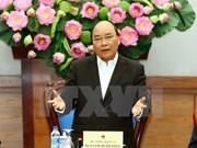 越南政府总理阮春福担任融入国际事务国家指导委员会主任