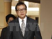 柬埔寨金边初级法院判处反对党救国党领袖桑兰西有期徒刑五年