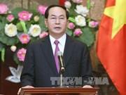 越南国家主席陈大光:继续坚定未来的发展道路
