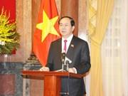越南国家主席陈大光致信祝贺安全调查力量