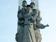 柬埔寨磅清扬省越南志愿军纪念碑和独立纪念碑修缮工程项目竣工仪式