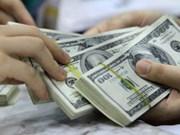 越盾兑美元中心汇率较前一日增长4越盾