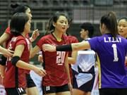 越南青年排球队进入世界18强
