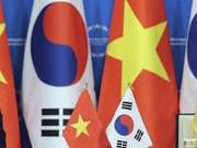 越南政府总理阮春福与韩国代理总统兼总理黄教安互致贺电