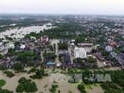 泰国南部强降雨导致洪水泛滥