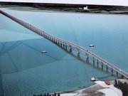 越南东南亚最长跨海大桥合龙