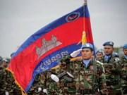 柬埔寨派遣189名官兵赴黎巴嫩参加联合国维和力量