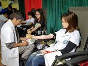 """""""红色周日""""无偿献血活动:为需要输血的病人奉献爱心"""