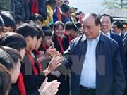 阮春福总理莅临高平省调研指导工作