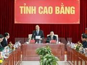 阮春福总理:高平省需要成为全国扶贫济困的典范