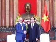 越南国家主席陈大光会见俄联邦巴什科尔托斯坦共和国政府总理马尔达诺夫