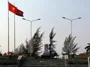 越柬边境地区人民携手维护边界线