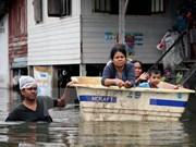 泰国南部多地发生洪灾 受灾人口100多万人