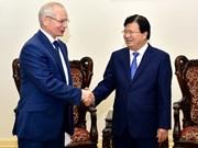 郑廷勇副总理会见俄联邦巴什科尔托斯坦共和国政府总理马尔达诺夫