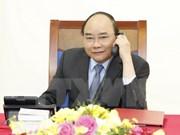 阮春福总理与韩国代理总统兼总理黄教安通电话