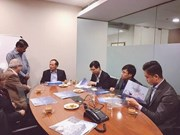 越南代表团出席印度第八届古吉拉特邦投资峰会