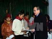 阮善仁赴山罗和和平两省开展春节走访慰问活动