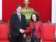 进一步加强越南共产党与匈牙利公民联盟党的关系
