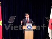 日本首相安倍晋三:法律至上原则将为亚太地区带来和平与繁荣