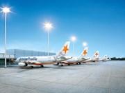 捷星太平洋航空公司开通岘港至中国香港新国际航线