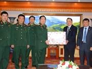 国防部长吴春历大将走访越南老战士协会中央委员会送上新春祝福