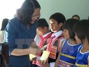 越南国家副主席邓氏玉盛探望嘉莱省贫困者