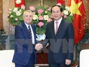 越南国家主席陈大光会见阿塞拜疆工业能源部部长