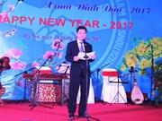 2017新年外国非政府组织友好见面会在河内举行