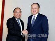 越南政府总理阮春福会见若干国际金融组织和企业领导
