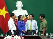 越南永隆省与柬埔寨磅士卑省加深合作关系