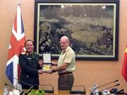 英国皇家军医部队代表团对越南进行访问