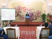 越南政府副总理兼外交部长范平明会见新闻媒体机构代表