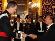 西班牙国王强调越南是西班牙在亚太地区的重要优先伙伴之一