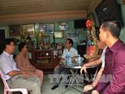 越南驻柬埔寨大使馆看望慰问越裔柬埔寨优抚家庭