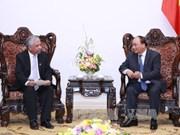 越南政府总理阮春福接受联合国开发计划署驻越代表递交委任书