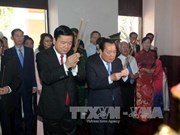 胡志明市领导人春节前开展敬香知恩报恩活动