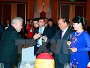 阮春福总理主持各国驻越使节迎春招待会