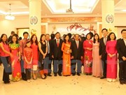 旅居海外越南人喜迎新春