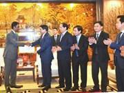 河内市向可口可乐越南公司颁发调整注册资金许可证