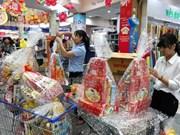 春节前胡志明市生活必需品价格保持平稳 年货价格略增