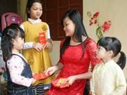 越南人春节习俗: 派红包