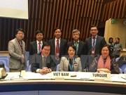 越南卫生部部长阮氏金进出席第140届世卫组织执行委员会会议
