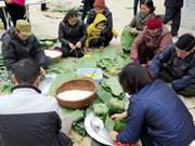 """越南人过年必不可少的贡品和习俗——粽子与""""冲年喜"""""""