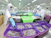 2017年1月越南水产品出口总额约达5.18亿美元