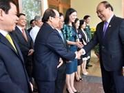越南政府总理阮春福赴广义省调研