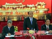 越南政府总理阮春福走访承天顺化省