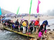 春节期间老街省接待游客达数十万人次